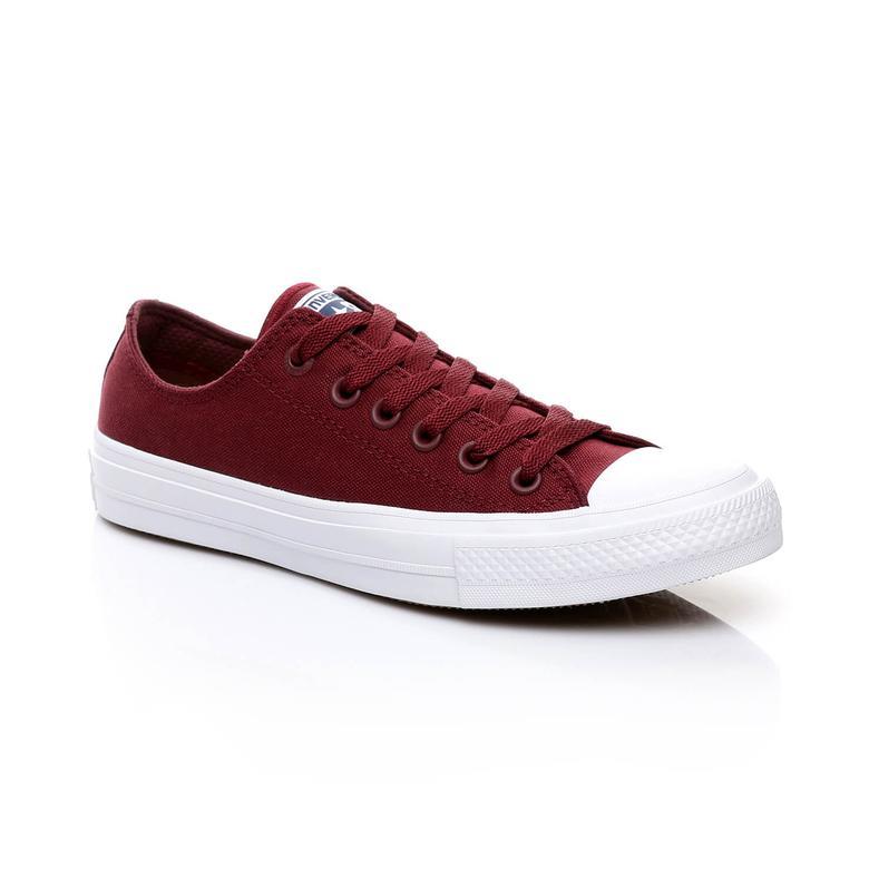 Converse Chuck Taylor All Star II Unisex Bordo Sneaker