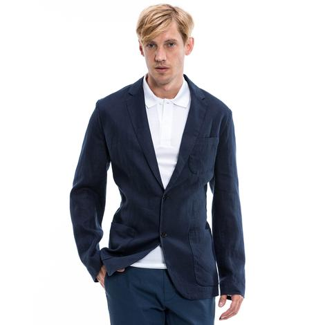 Nautica Erkek Lacivert Slim Fit Blazer Ceket