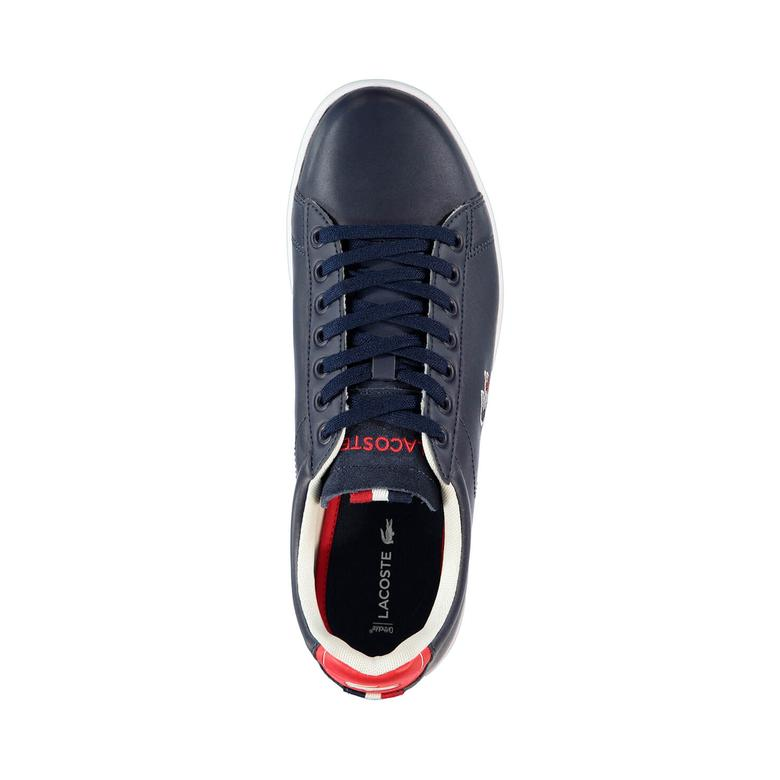 Lacoste Carnaby Evo 317 3 Erkek Lacivert Sneaker