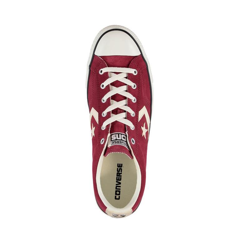 Converse Star Player Unisex Bordo Sneaker