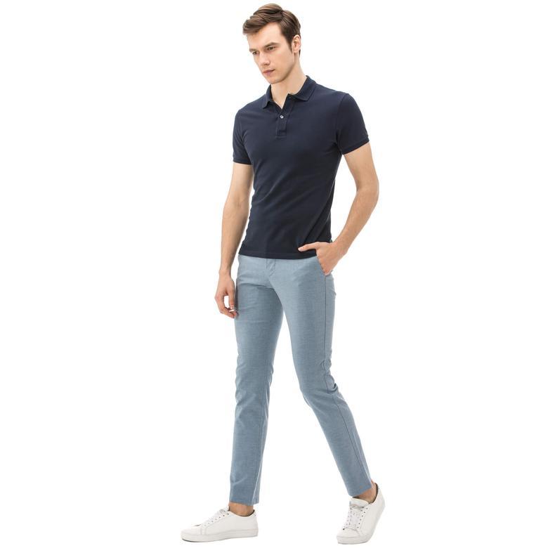 Nautica Erkek Slım Fıt Mavi Pantolon