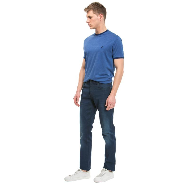 Nautica Erkek Lacivert Slim Fit Jean Pantolon