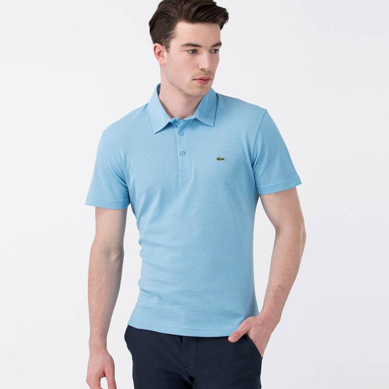 Lacoste Erkek Mavi Kısa Kollu Polo