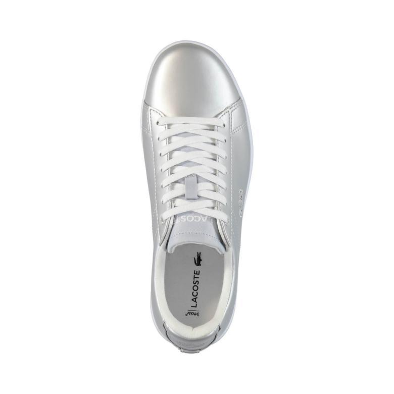 Lacoste Carnaby Evo Kadın Gümüş Rengi Sneaker