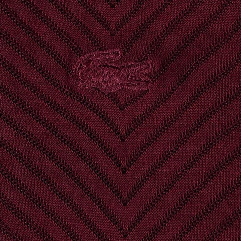 Lacoste Unisex Bordo Çorap