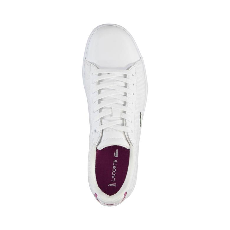 Lacoste Carnaby Evo 117 5 Kadın Beyaz Sneaker