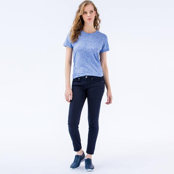 Lacoste Kadın Regular Fit Lacivert Pantolon