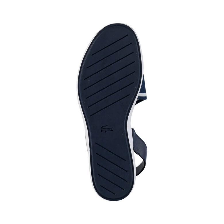 Vivont Sandal 117 1 Kadın Lacivert Sandalet  Ayakkabı