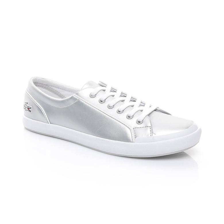 Lacoste Lancelle Kadın Gümüş Sneaker