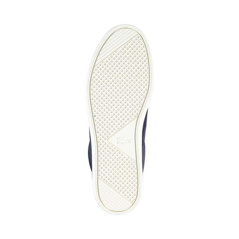 Lacoste Straıghtset 317 3 Erkek Lacivert Sneaker