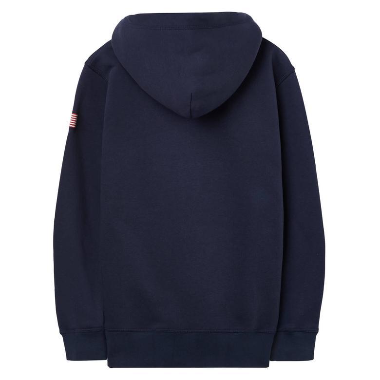 Gant Çocuk Lacivert Sweatshirt