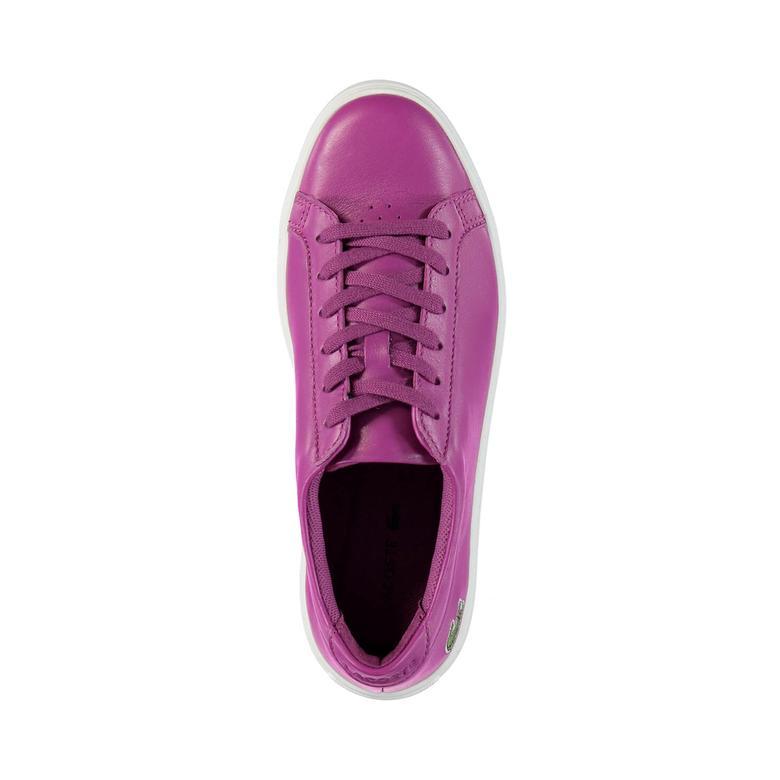 Lacoste L.12.12 Kadın Mor Sneaker Ayakkabı