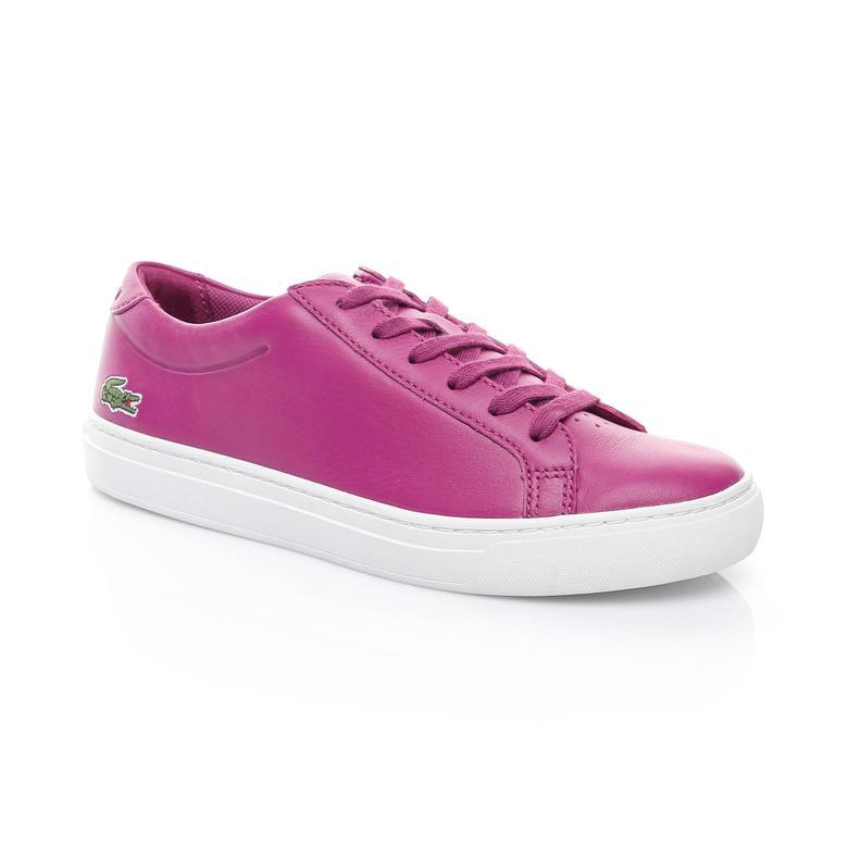 Lacoste L.12.12 117 1 Kadın Mor Sneakers Ayakkabı