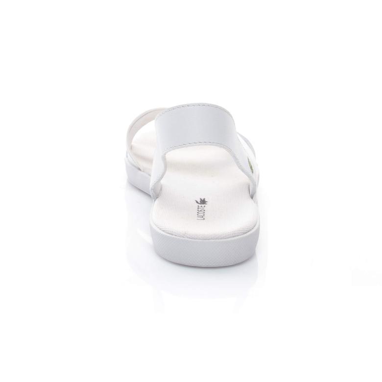 Vivont Sandal 117 1 Kadın Beyaz Sandalet  Ayakkabı