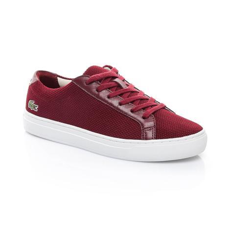 Lacoste L.12.12 117 2 Kadın Kırmızı Sneaker