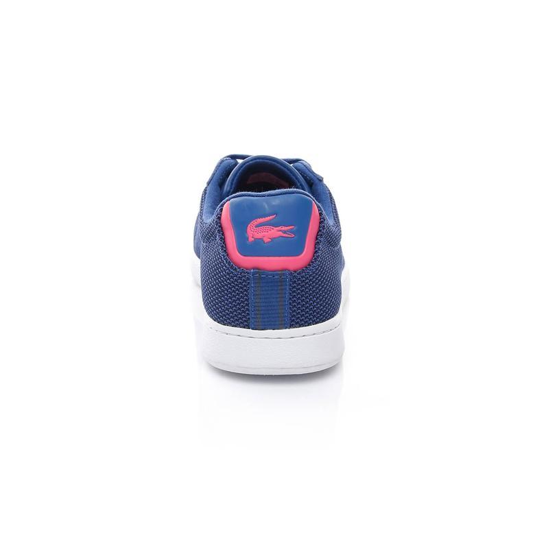 Lacoste Carnaby Evo Kadın Mavi Sneaker