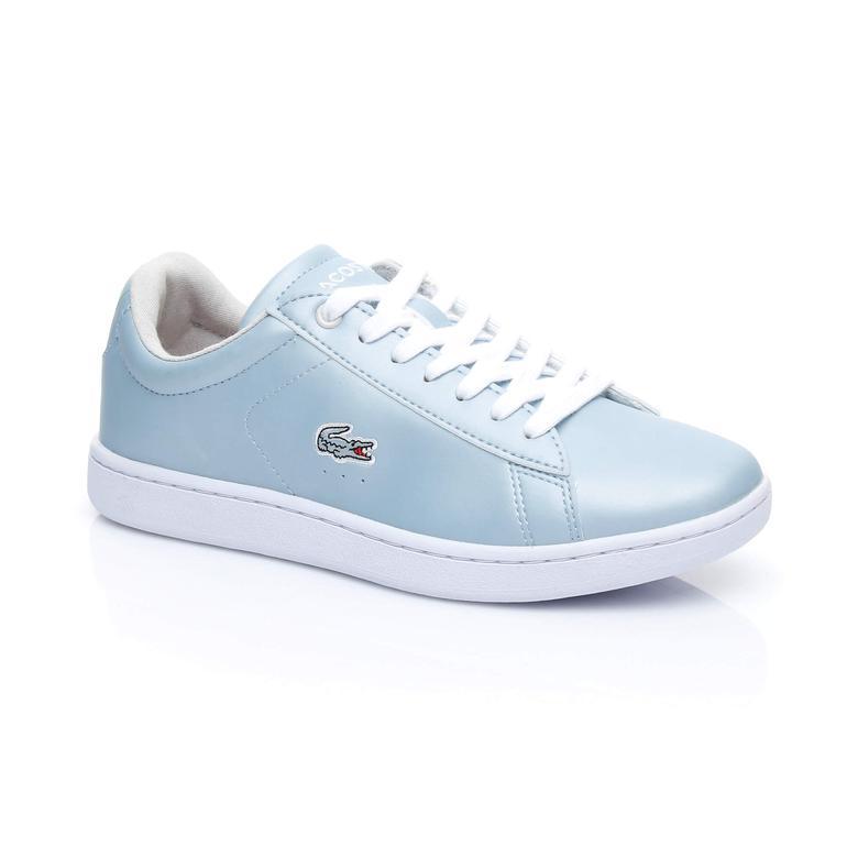 Lacoste Carnaby Evo 317 4 Kadın Mavi Sneaker