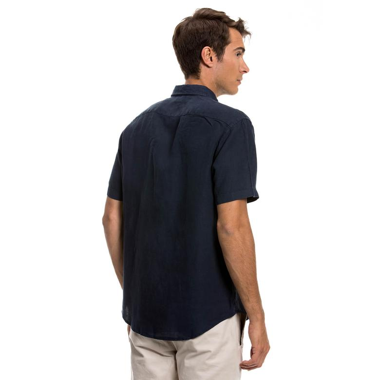 Nautica Erkek Lacivert Gömlek