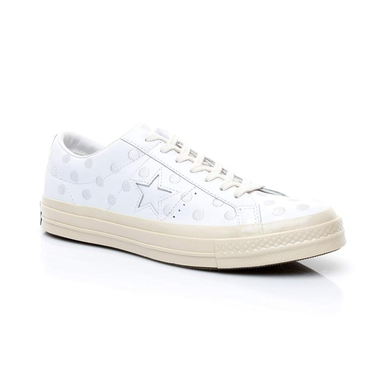 Converse One Star 74 Unisex Beyaz Sneaker
