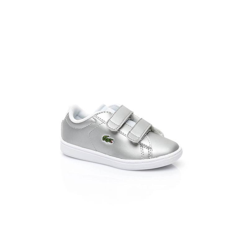 Lacoste Carnaby Evo Çocuk Gri Sneaker
