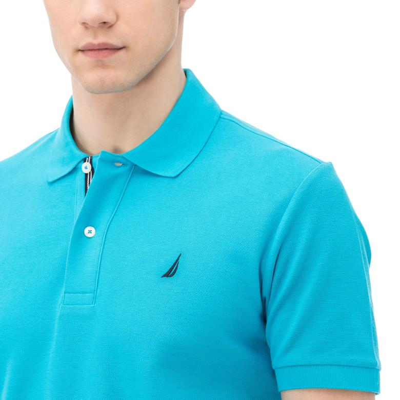 Nautica Erkek Mavi Klasik Fit Polo