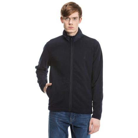 Nautica Erkek Lacivert Regular Fit Sweatshirt