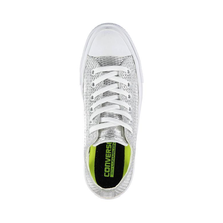 Converse Chuck Taylor All Star II Kadın Gümüş Sneaker