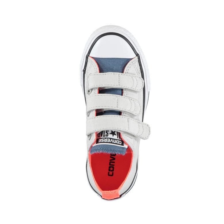 Converse Chuck Taylor All Star 3V Çocuk Beyaz Sneaker