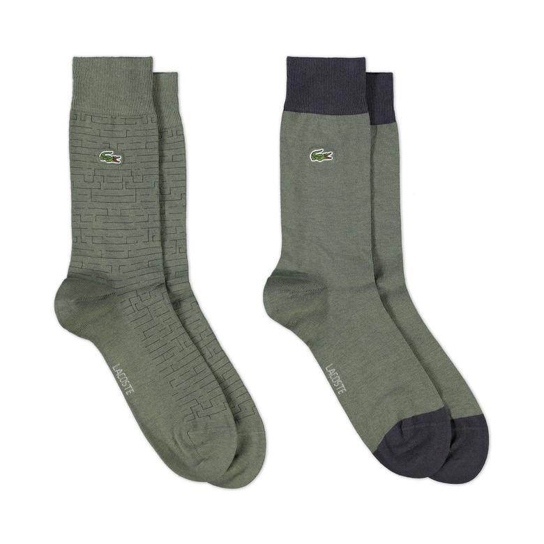 Lacoste Unisex Yeşil Çorap