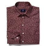 Gant Kadın Bordo Gömlek