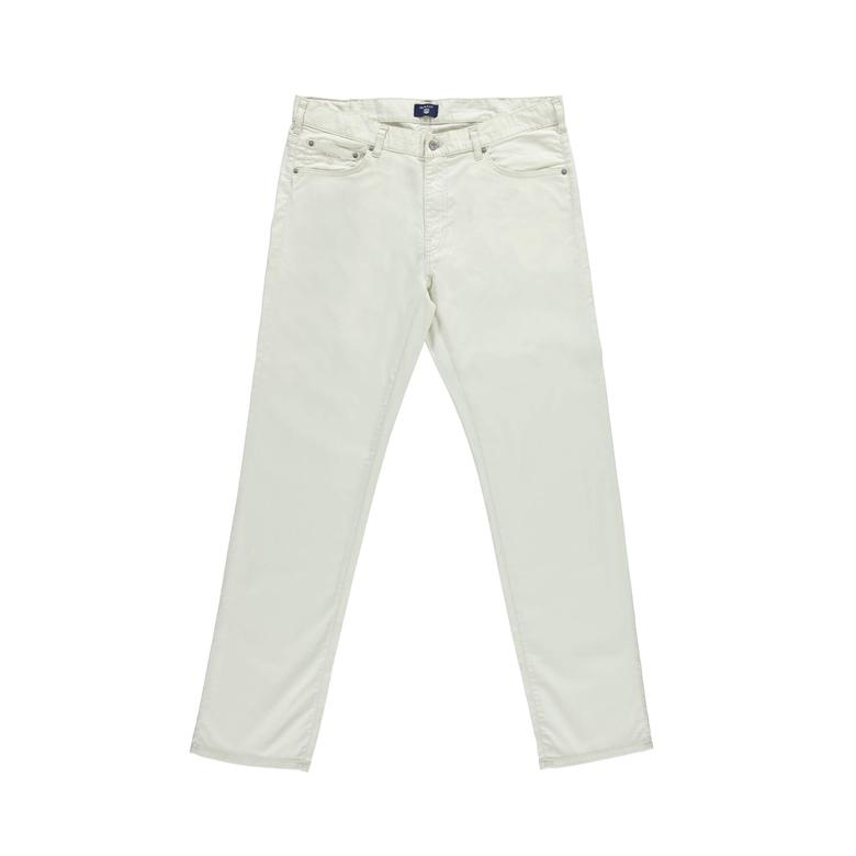 Gant Erkek Krem Regular Fit Pantolon