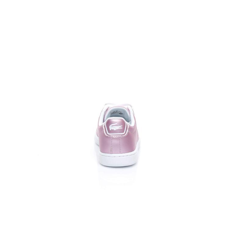 Lacoste Carnaby Evo Çocuk Pembe Sneaker