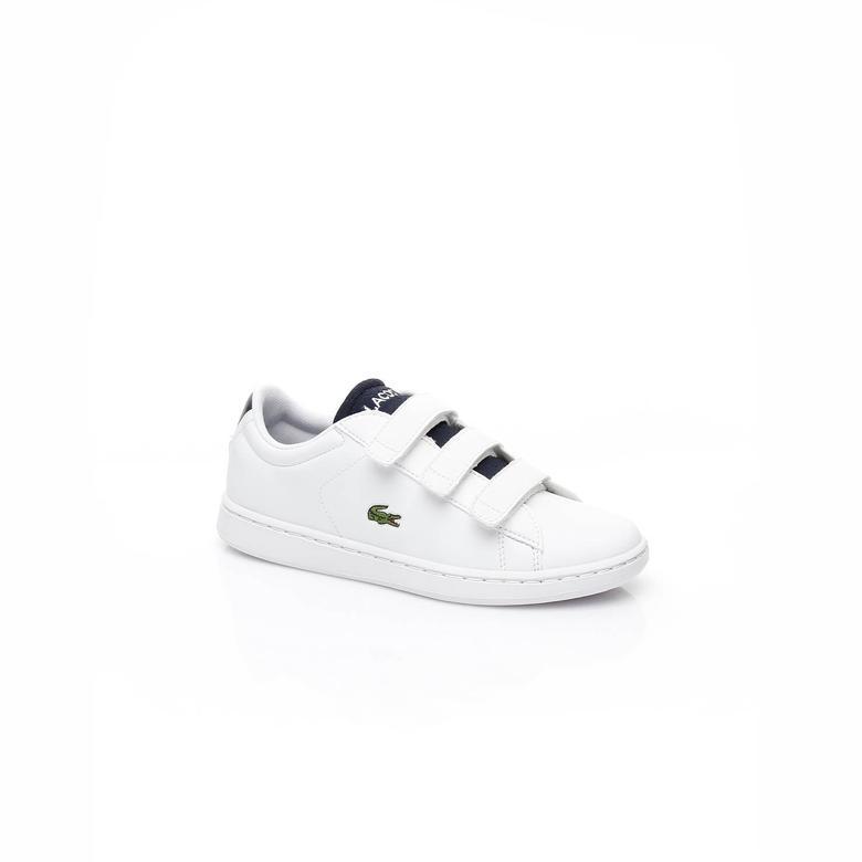 Lacoste Evo Çocuk Beyaz Sneaker