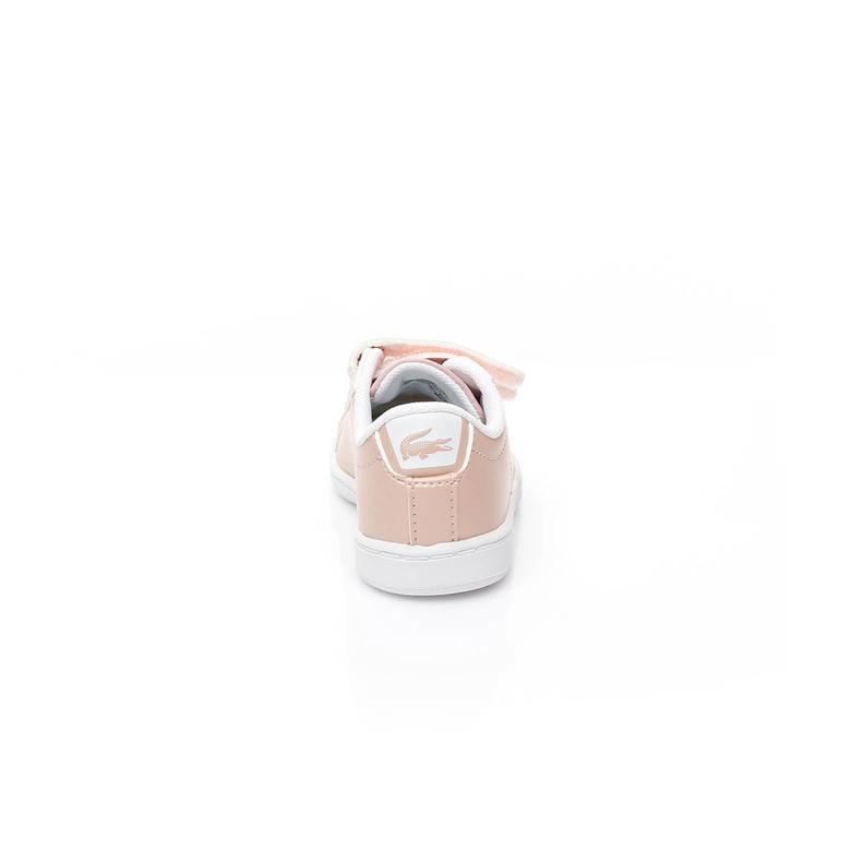 Lacoste Carnaby Evo Pembe Çocuk Sneaker