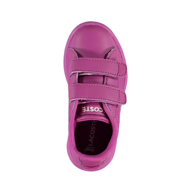 Lacoste Carnaby Evo Çocuk Mor Sneaker