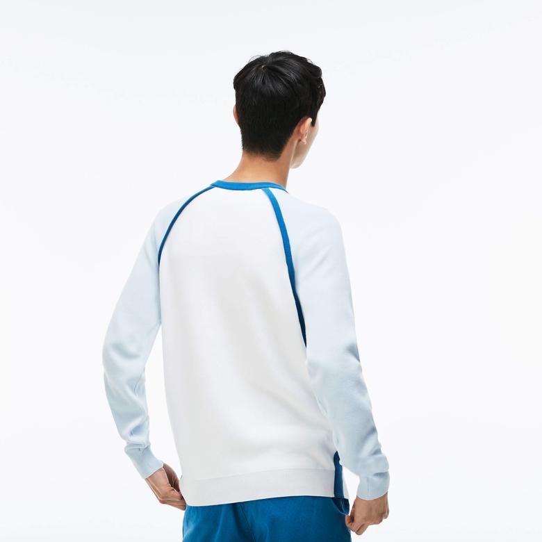 Lacoste Erkek Mavi Triko