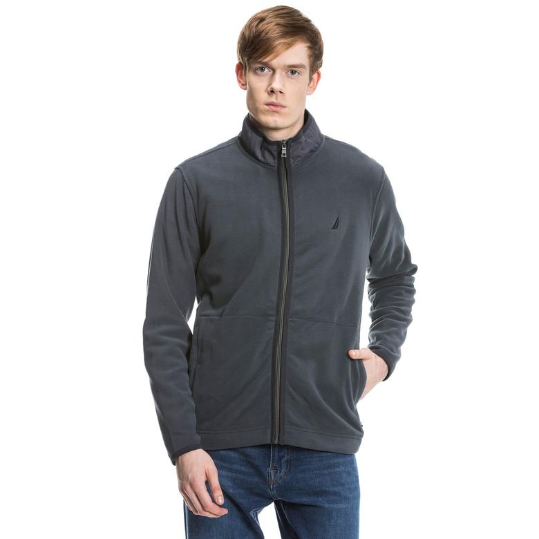 Nautica Erkek Gri Regular Fit Sweatshirt