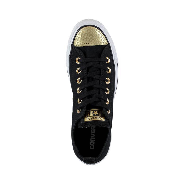 Chuck Taylor All Star Kadın Siyah Sneaker