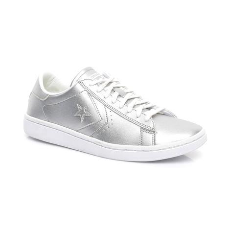 Converse PL LP Kadın Gümüş Sneaker