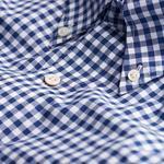 Gant Erkek Mavi Uzun Kollu Fitted Gömlek