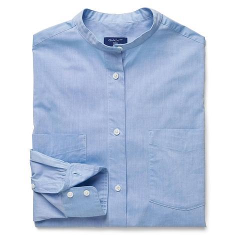 Gant Kadın Mavi Uzun Kollu Relaxed Fit Gömlek
