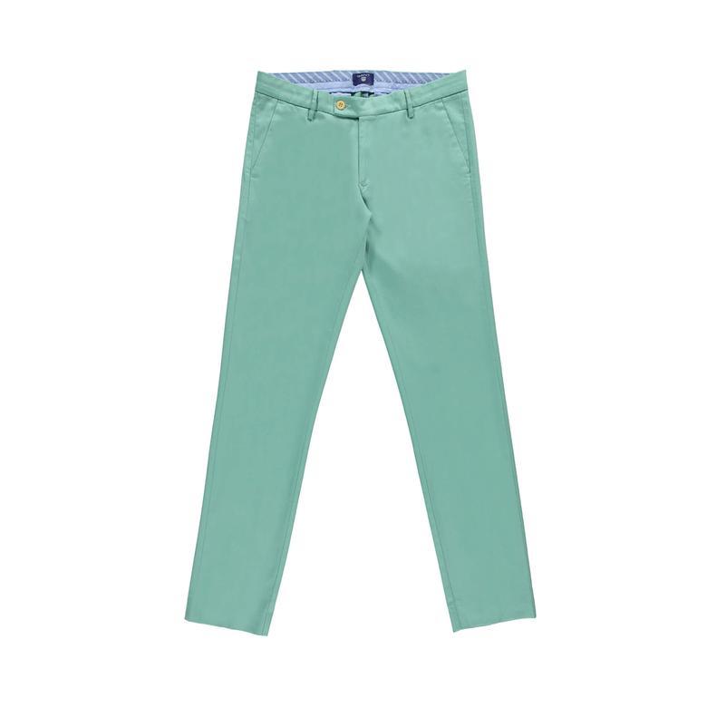 Gant Erkek Yeşil Slim Fit Pantolon