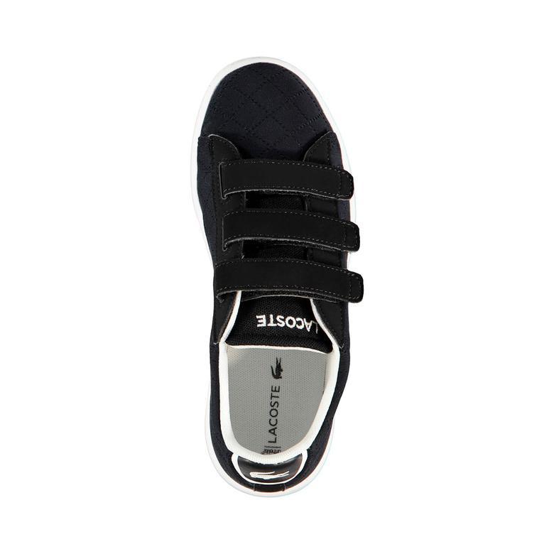 Lacoste Carnaby Evo 317 3 Çocuk Siyah Sneaker