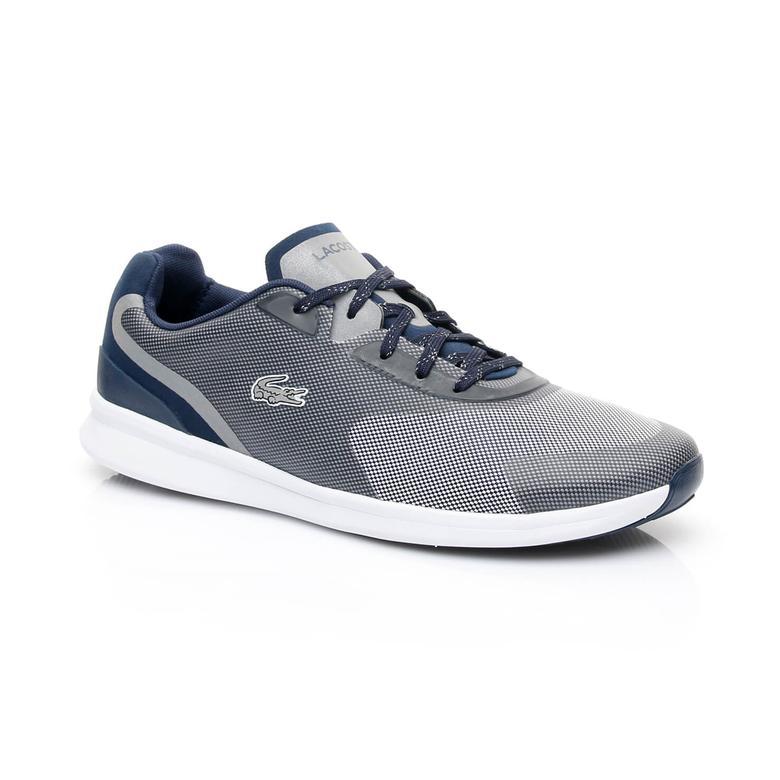 Lacoste Ltr.01 317 3 Erkek Gri-Lacivert Sneaker