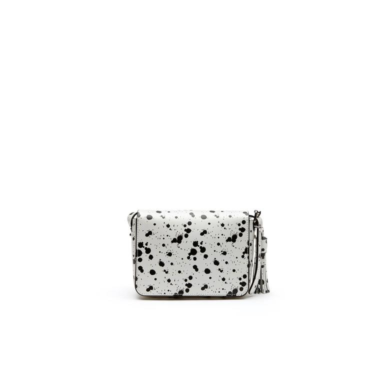 Lacoste Spekled Print Kadın Beyaz Çanta