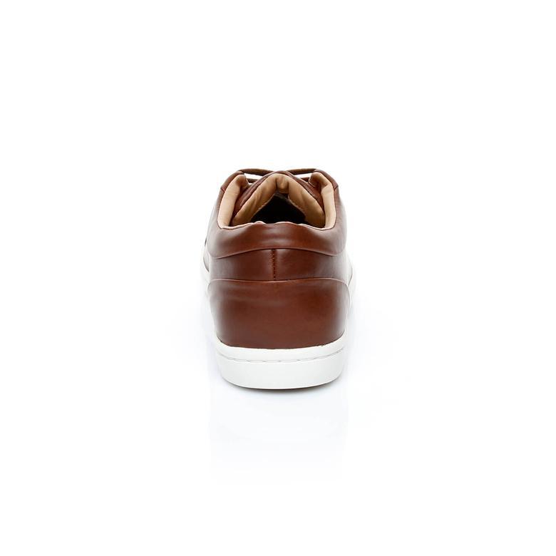 Lacoste Straıghtset 317 1 Erkek Kahverengi Sneaker