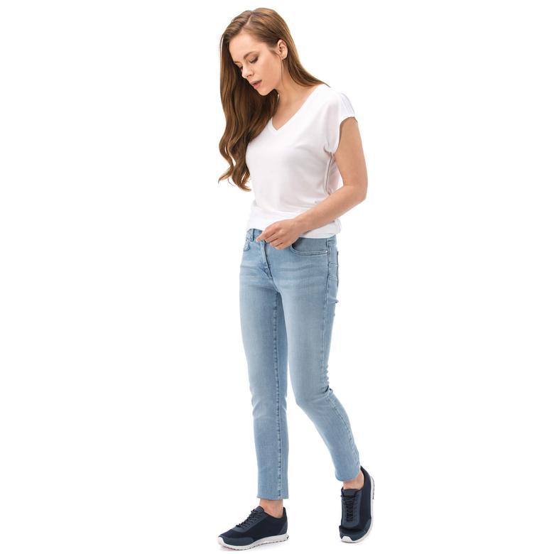 Nautica Kadın Mavi Regular Fit Pantolon