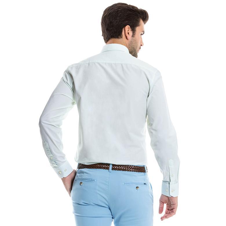 Nautica Erkek Beyaz Gömlek