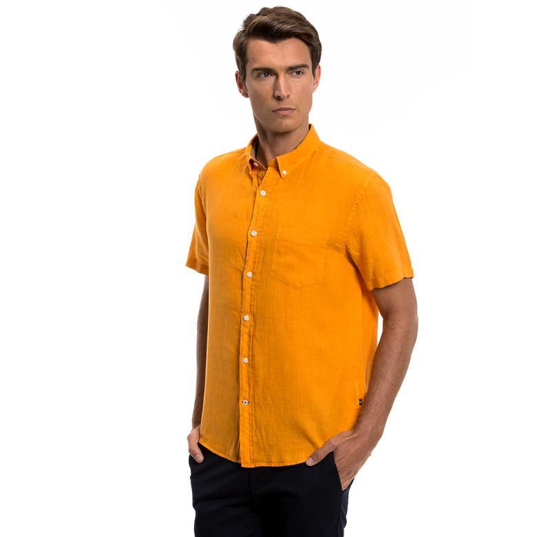 Nautica Erkek Turuncu Gömlek