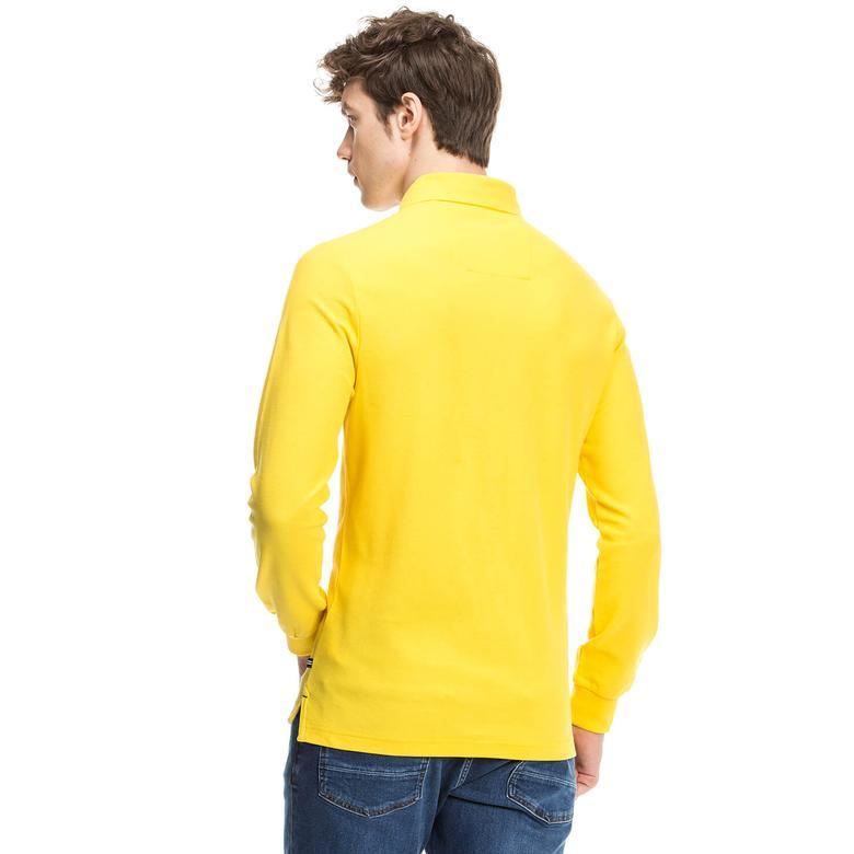 Nautica Erkek Sarı Uzun Kollu Polo